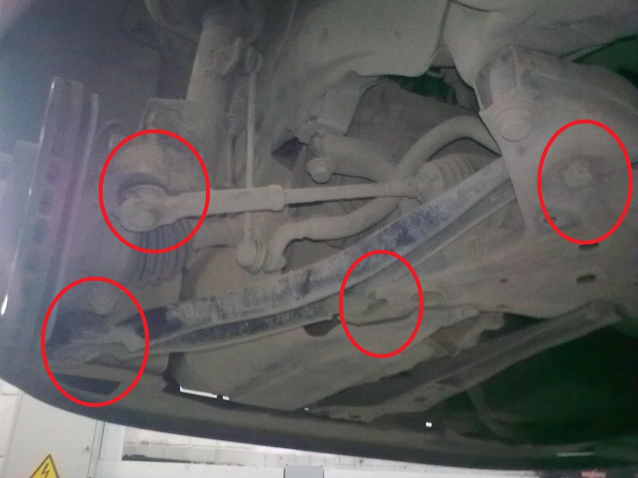 Додж калибр схема задней подвески