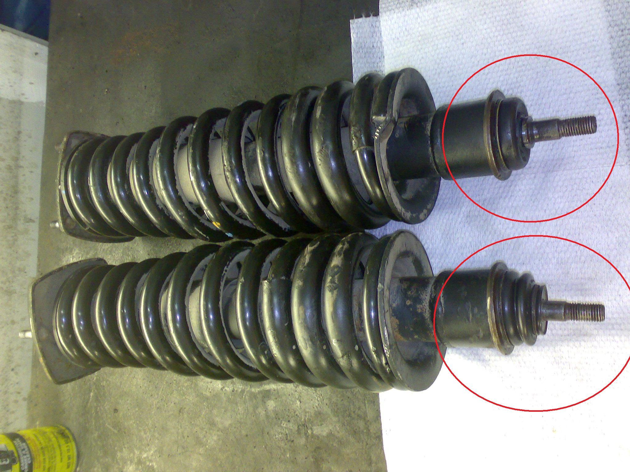 шаровые опоры задних амортизаторов мерседес